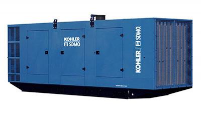 Аренда генератора KOHLER-SDMO KD1500-F 1000 кВт