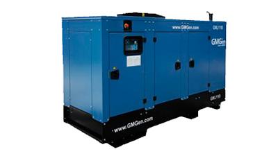 Аренда генератора GMGen GMJ110 80 кВт