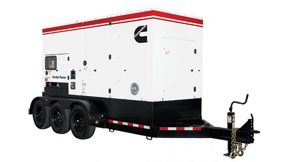 Аренда генератора Cummins C400D5E 290 кВт