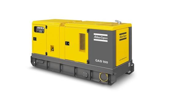 Аренда генератора Atlas Copco  QAS 150 120 кВт