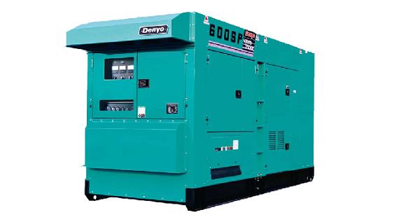 Дизельный генератор 440 кВт Denyo DCA 600SPK