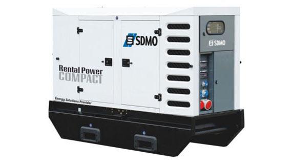 Аренда генератора 123 кВА /98 кВт кВт